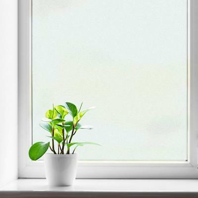 Window Film for Privacy Static Cling Decorative Frosted Glass Films 35.4inx13FT