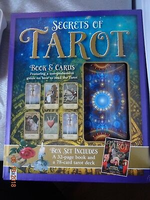 Secrets Of Tarot Book And Cards
