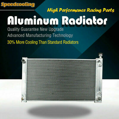 618 Aluminum Radiator For Chevrolet P30 GMC C/KR/V Suburban Series V6 V8 88-95