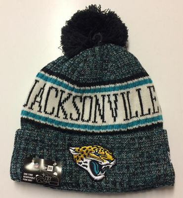 2018 Jacksonville Jaguars New Era NFL Knit Hat On Field Sideline Beanie Cap cb6fa45eb