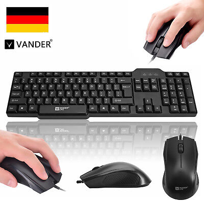 Profession USB Wired Gaming Maus PC Mouse & LED Backlight Keyboard Tastatur Set
