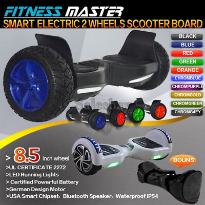 8.5 Inch Smart Self Balancing Hoverboard Electric 2 Wheel Scooter Hover Board