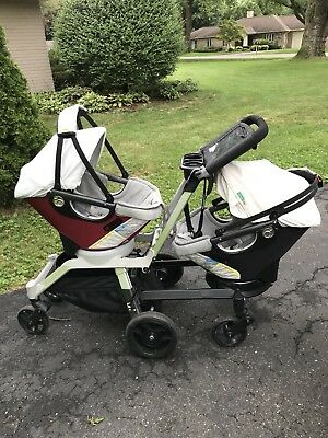Orbit Baby Stroller G2 W/ Black Or Red Seat Your Choice!Includes Car Seat Base