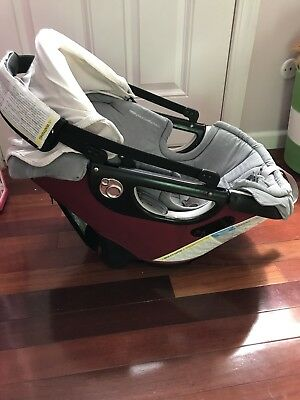 Orbit Car Seat Red Euc For The Stroller Or As A Second Car Seat