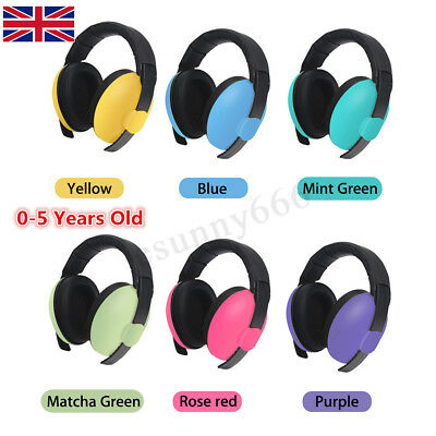 UK BABY Childs Infant Childs Kids Ear Muffs Protectors Earmuffs Noise Defenders