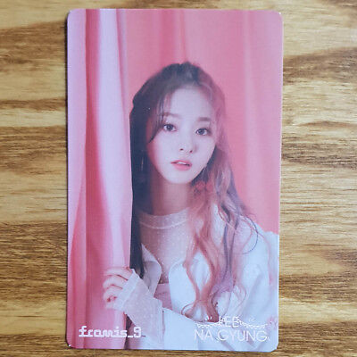 Lee Na Gyung Official Photocard Fromis 9 Special Single Album From .9 Khino
