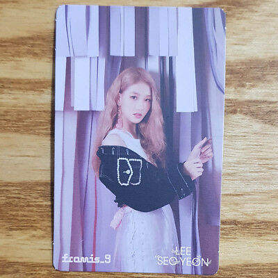 Lee Seo Yeon Official Photocard Fromis 9 Special Single Album From .9 Khino