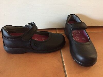 Brand New Airflex Ever lite 12E Clarks Mary Jane Black Girls School Show