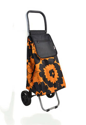 D133 Rugged Aluminium Luggage Trolley Hand Truck Folding Foldable Shopping Cart