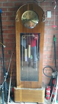 Grandfather Clock Enfield not great condition not working