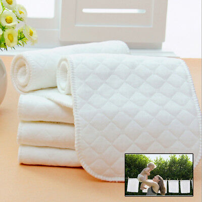 1/5/10x Large Muslin Squares Baby Cloth Reusable Nappy Wipes Ecological Cotton