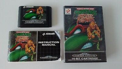 Teenage Mutant Ninja Turtles Tournament Fighters Complet sur Megadrive !!!!