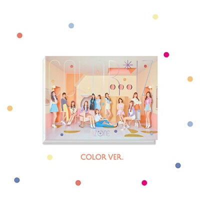 IZONE [COLOR*IZ] 1st Mini Album COLOR Ver CD+FotoBuch+FotoKarte IZ*ONE SEALED