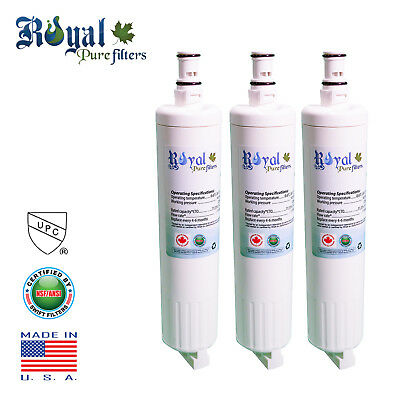 Replacement Whirlpool 4396508 4396510 Refrigerator Water Filter RPF-4396508 3PcK