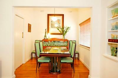 Art Deco Dining Table and Chairs