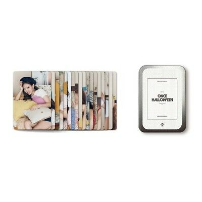 Twice Photocard Set Twice Fanmeeting Once Halloween Official Md