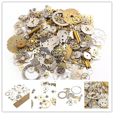 10g/bag Steampunk Wrist Watch Old Parts Vintage Gears Wheels Steam Punk DIY Lots