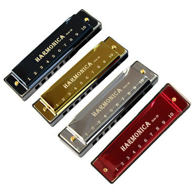 10 Holes Harmonica Musical Instrument Children Early Education Mouth Organ Gift