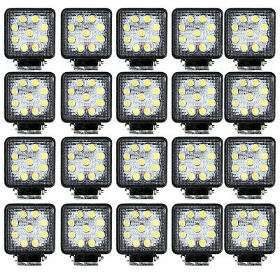 20X 48W LED Work Light Flood Light OffRoad ATV SUV Boat Jeep Truck /Spot  12V