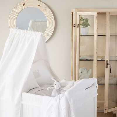 a1d0c08149 Zara Home White Mini Cot, with canapé, used once. including bedding from  Zara