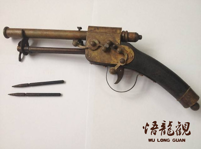 antique     Ancient Chinese concealed weapon: sleeve arrow.