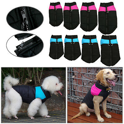 Puppy Pet Dog Coat Warm Insulated Padded Coat Thick Winter Puffer Jacket