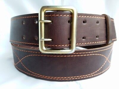 military belt of the Russian army men's belt genuine leather length 120 cm