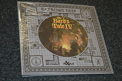 The Bard's Tale IV Barrows Deep - Collector's Album Box Kickstarter    (4 3 2 1)
