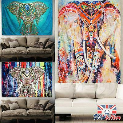 Mandala Tapestry Indian Wall Hanging Room Decor Boemia Hippie copriletto Throw