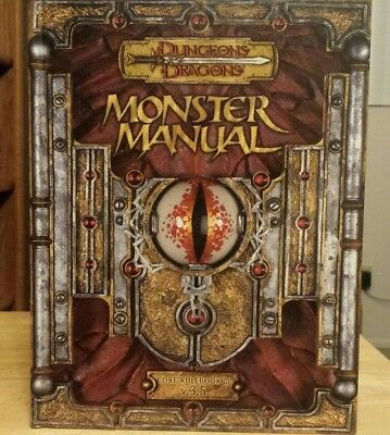 monster manual 2 d&d 3.5 excellent condition! looks new! - $29.00