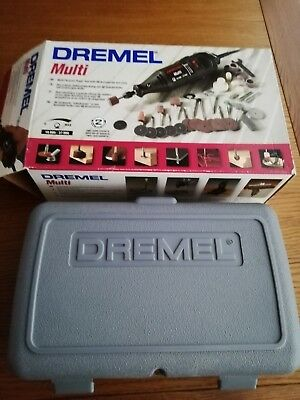 Dremel multi tool with 40 accessories and case.