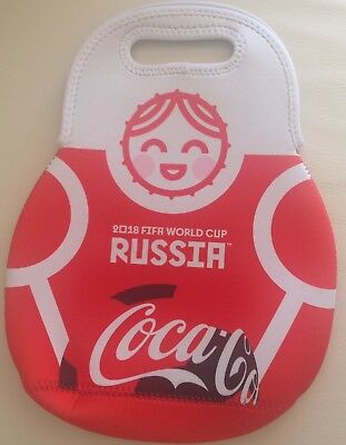CYPRUS FIFA RUSSIA WORLD CUP 2018 COCA COLA New OFFICIAL COOLER BAG 24x33 cm