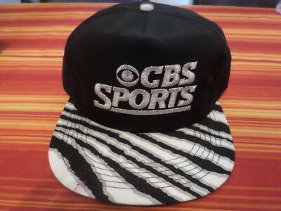 Vintage CBS SPORTS TV Show Baseball cap hat BRAND NEW! 4ff6693530db