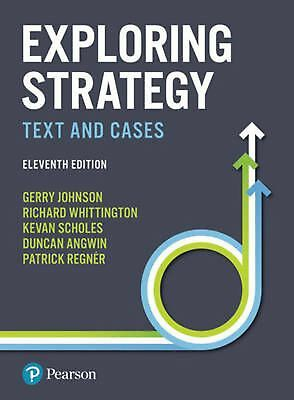 Exploring Strategy 11th Edition Text and Cases PDF by Johnson Scholes Down Load
