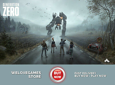 Generation Zero Closed Beta Pc / Steam Key [Global] Instant Delivery