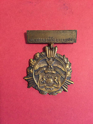Original US WW1 Mexican Border Service Medal from people of PA