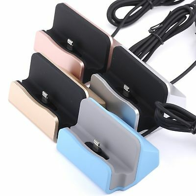 Desktop Charger Dock Sync Charge Stand Cradle for iPhone 7 8 Plus X Xs Xr MAX