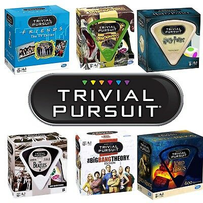 Trivial Pursuit Bitesize - Friends, Harry Potter, Lord of The Rings, Dinosaurs +