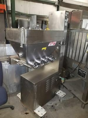 Moline depositor inline filler all stainless