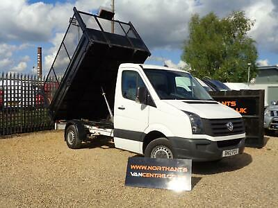 2012/12 Volkswagen Crafter 2.0TDi ( 109PS ) CR35 MWB CAGED TIPPER