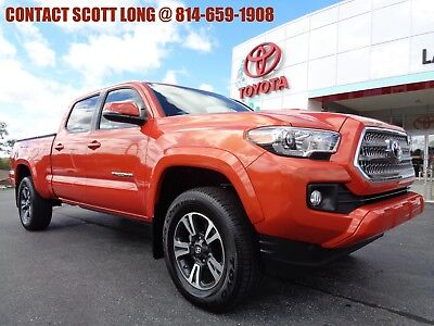 2017 Toyota Tacoma Certified 2017 Tacoma Double Cab Long Bed 4x4 TRD Toyota Certified 2017 Tacoma Double Cab 4x4 Long Bed TRD Sport Nav Sunroof 4WD