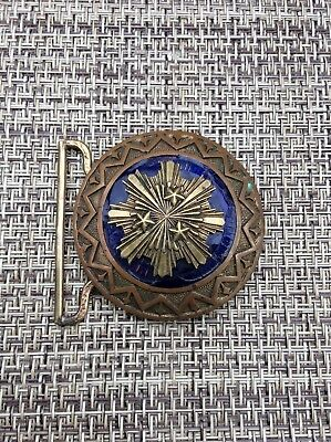 WW2 Latvia Army Officer Parade Military Belt Buckle Latvian