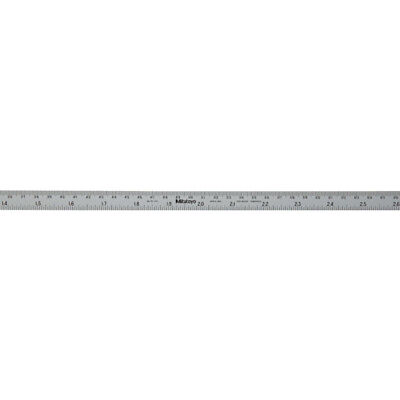 "Mitutoyo 182-309 Tempered Stainless Steel Rule 40""/1000mm - Brand New"