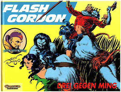 Alex Raymond FLASH GORDON 2 DREI GEGEN MING  CARLSEN Studio Comic HARDCOVER