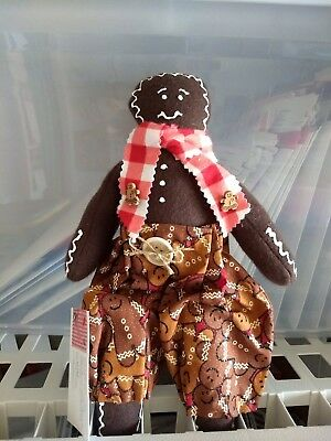 Country Cloth Gingerbread Doll