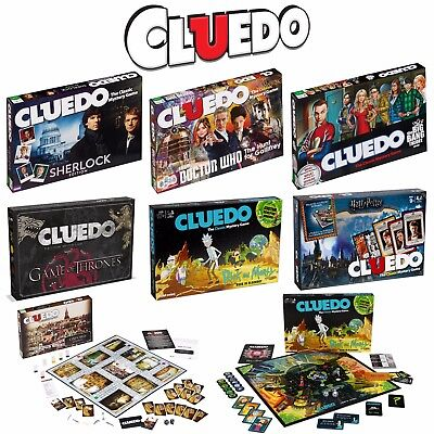 Cluedo The Classic Mystery Board Game - Various Editions - Perfect for Christmas