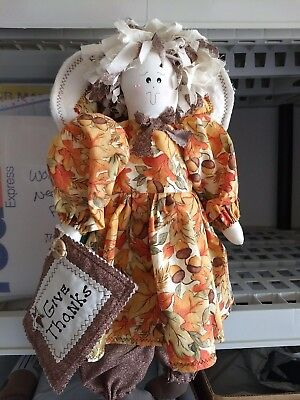 Country Cloth Thanksgiving Doll