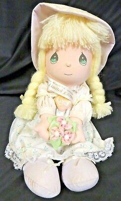 Vintage Precious Moments Doll   1991 Limited Edition   Amy