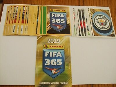 Panini Fifa 365 2019 Stickers - Qty 10, 20, 30,40,50, Loose Stickers