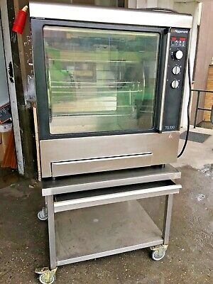 Niggemann Hähnchengrill Haxengrill Rotationsgrill Rotisserie Oven Typ TG-330 E